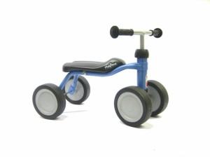Løbecykel til de mindste med 4 hjul